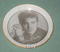 Elvis Presley EPE Bobby Pin Tray / Coaster Copyright 1956 RARE