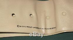 Elvis Presley EPE Brown Vinyl Belt 1956 RARE Original Prototype