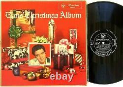 Elvis Presley-Elvis' Christmas Album LP 1957 Australia 1st Press RCA-L10341 RARE