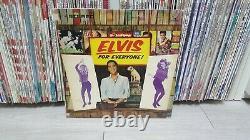 Elvis Presley Elvis For Everyone! Cover Korea Hits LP Ann Margret RARE