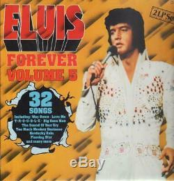 Elvis Presley Elvis Forever Volume 5 SUPER RARE NEAR MINT RCA 2xVinyl LP