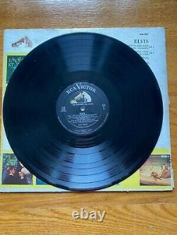 Elvis Presley Elvis LPM-1382 Ad Back Cover LP Second Album RARE, 1st Press
