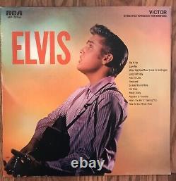 Elvis Presley Elvis LPM-1382(e) LP Second Album Original RARE 1956