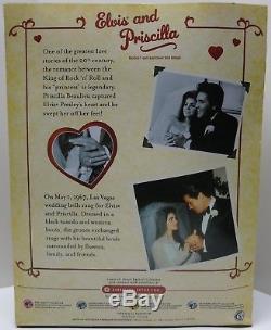 Elvis Presley Elvis & Priscilla Barbie Collector's Edition Gift Set Very Rare