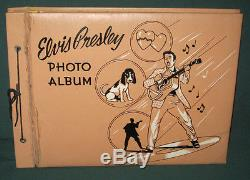 Elvis Presley Enterprises EPE Photo Album 1956 Super RARE