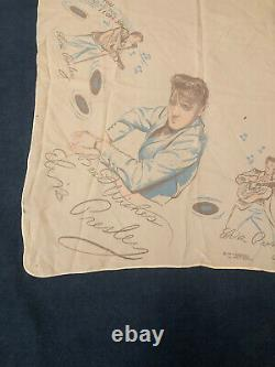 Elvis Presley Enterprises Original 1956 White Head Scarf RARE