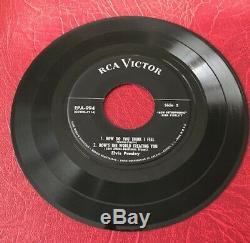 Elvis Presley Epa-994 Strictly Elvis Original1956 Pressing Rare No Dog/hor. Line