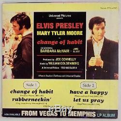 Elvis Presley Extremely Rare Change Of Habit. Prototype