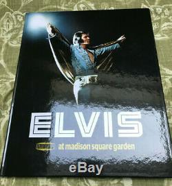 Elvis Presley FTD Book + cd Elvis live at Madison Square Garden rare + deleted