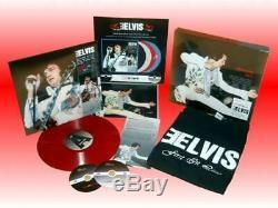 Elvis Presley First In Line Vol. 2 Special DeLuxe Box Set RED Vinyl LP RARE