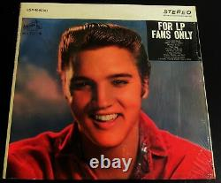 Elvis Presley-For LP Fans Only-RARE 1965 US Stereo Error Cover-NM in Shrink
