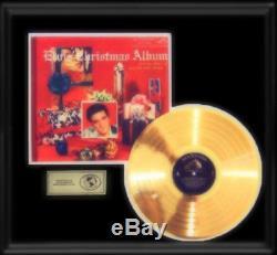 Elvis Presley Gold Record Christmas Album Rare 1950's Disc Loc-1035 Lp Frame