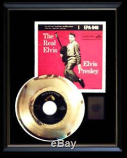 Elvis Presley Gold Record Epa-940 Ep The Real Elvis Rare Disc & 45 RPM Sleeve