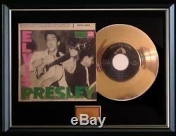 Elvis Presley Gold Record Epb-1254 Rare Debut First Ep Disc 45 RPM Sleeve 1956
