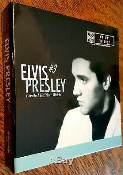 Elvis Presley Gold Tone FOSSIL Collection Watch #3 Leather Band Mint NIB Rare