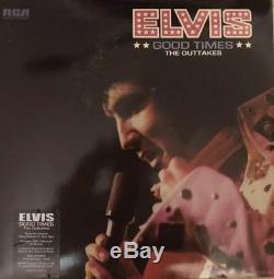 Elvis Presley Good Times Elvis FTD Vinyl LP Rare