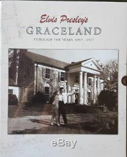 Elvis Presley Graceland Through The Years 1957-1977 ULTRA RARE BOXCAR SEALED