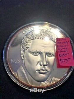 Elvis Presley Half Pound 8oz Silver Round. 999 Silver Proof coin #2348 RARE
