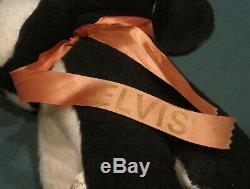 Elvis Presley Hilton Summer Festival Souvenir Dog 1970's Original Coronet RARE