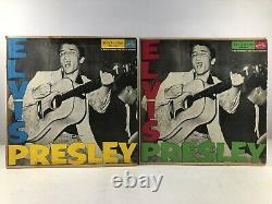 Elvis Presley Lot 7 Vinyl Brazil 1956 VG++/VG and VG/VG- Mega Rare RCA 5840016