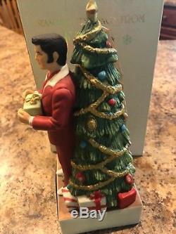 Elvis Presley McCormick Bottle Decanter Christmas Tree Empty Very Rare