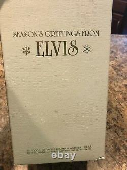 Elvis Presley McCormick Bottle Decanter Christmas Tree Empty Very Rare