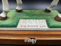 Elvis Presley McCormick Bottle Decanter Rising Sun Mini 50ml Full Liquid Rare