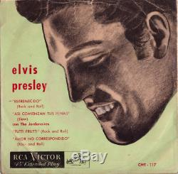 Elvis Presley Mega Rare 1957 Chile Ep Rca Victor Cme-117