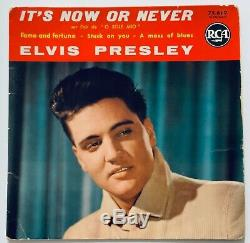 Elvis Presley- Mega Rare Red Top Ep From France