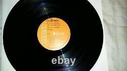 Elvis Presley Mega Rare Spain Moody Blue Lp With Lou Reed Label Mistake 1977