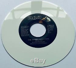 Elvis Presley- Mega Rare USA Moody Blue White Vinyl Test Pressing