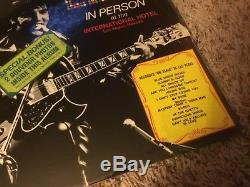 Elvis Presley Memphis To Vegas 1969 Rca Lsp-6020 With Souvenir Hype Rare Lp