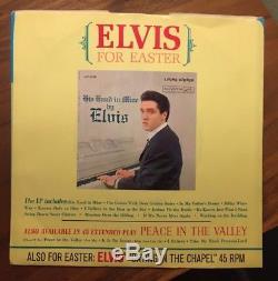 Elvis Presley Milky White Way RCA Single Vinyl, 7 45 Rare