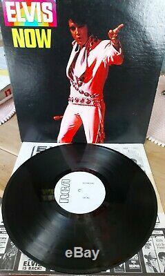 Elvis Presley Now LP Test Pressing USA Mega Rare