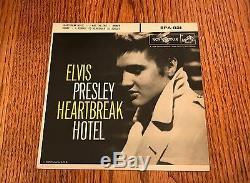 Elvis Presley Original Heartbreak Hotel Epa-821 Rare