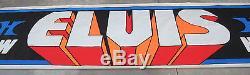 Elvis Presley Original Las Vegas Hilton Engagement Banner LARGE RARE