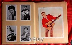 Elvis Presley Original Vintage Scrapbook Photos Articles Rare 50 Pages Clippings