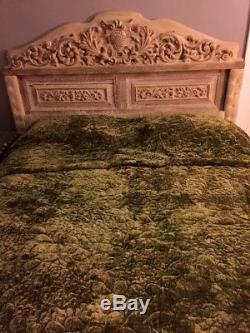 Elvis Presley Owned Bed From His Beverly Hills Hillcrest Home / Bedroom Rare