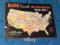 Elvis Presley Owned Concert Scarf / Las Vegas Hilton 1974 Rare Teal Color / COA