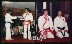 Elvis Presley Owned TCB Memphis Mafia Original Patches Karate Gi Rare Authentic