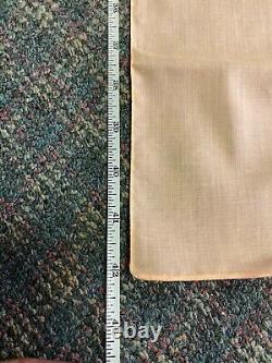 Elvis Presley Peach SIGNATURE SCARF- 42 by 8 1/2 Scarve Rare Color