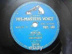 Elvis Presley Pop 249 Great Britain Rare 78 RPM Record 10 Vg