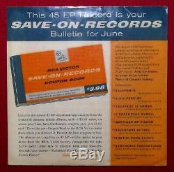 Elvis Presley RARE 1956 SPA-7-27 SAVE-ON-RECORDS Bulletin for June
