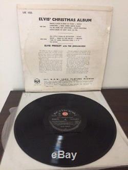 Elvis Presley RARE NEW ZEALAND XMAS ALBUM-DYNAGROOVE RED DOT- ORIGINAL NEAR MINT