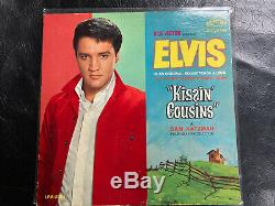 Elvis Presley RARE NO CAST PHOTO COVER Original Mono/Kissin Cousins LPM-2894