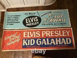 Elvis Presley RARE Original Movie Poster Banner Collection