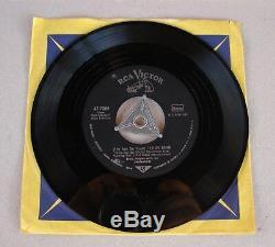 Elvis Presley RARE US ARMY Dog Label Loving You / Teddy Bear 47-7000 GERMANY