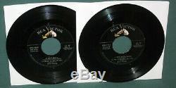 Elvis Presley RCA EPB-1254 2 EP Set Rare Silver Line Original 1956