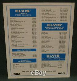 Elvis Presley RCA Gold Records 4 Publicity Bonus Photo Original 1968 RARE