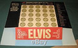 Elvis Presley RCA Worldwide Hits 8 Track Store 3D Display Standee Original RARE